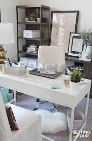 bright home office design. color of the year 2016 simply white office nookhome bright home design