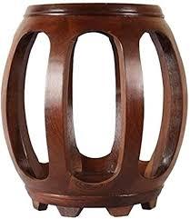 Mahogany Stool - Drum Stool Low Stool Chinese ... - Amazon.com