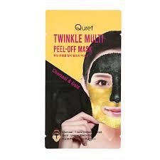 <b>Маска</b>-<b>пленка</b> для лица `QURET` TWINKLE MULTI матирующая ...