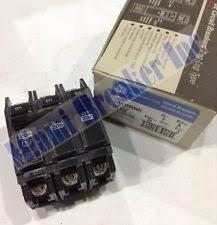 electrical breaker box ge general electric thqc32020wl new circuit breaker 3p 20 amp 240v box of 2