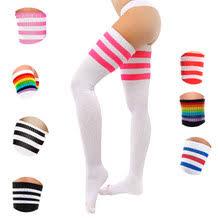 sexy cotton socks hot new 1pair women fashion long thigh high warm quality over knee 2018 classics