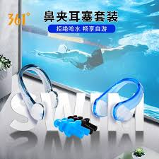 Swimming nose clip <b>361</b> degree swimming nose clip earbuds set ...