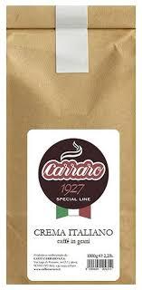<b>Кофе</b> в зернах <b>Carraro</b> Crema Italiano — <b>Кофе</b> в зернах — купить ...