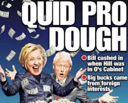 Image result for bill hillary clinton foundation dirty money donations