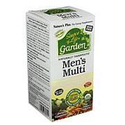 Nature's Plus <b>Source of Life Garden</b> Mens Multivitamin Organic ...