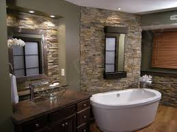 feature tile wall bathroom small