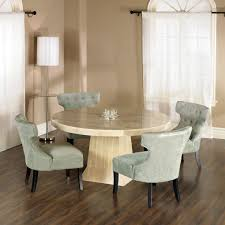 Round Dining Room Furniture Dining Room Cheerful Dining Room Decoration With Round Glass