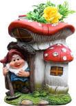 Купить <b>Фигурка садовая Park</b> Ежик с мухомором с доставкой на ...