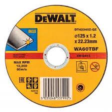 Купить DEWALT DT42340Z <b>круг отрезной по</b> металлу, INDUSTRIAL