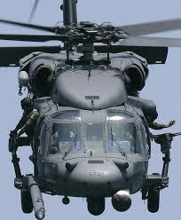 Black Hawk military helicopter