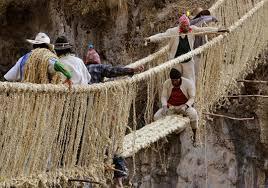 Cây cầu cỏ Peru được công nhận di sản thế giới