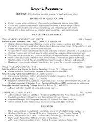 nancy rosenberg   free resume samples  cover letter samples and tipshere    s nancy    s resume