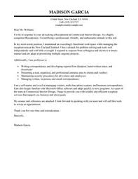 best receptionist cover letter examples   livecareerreceptionist cover letterexecutive design