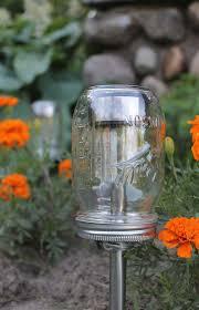 summer nights solar powered ball mason jar outdoor path light ball mason jar solar lights