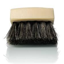 Long Bristle <b>Horse Hair</b> Leather Cleaning Brush |