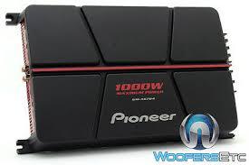 <b>PIONEER GM-A6704</b> 4CHANNEL 1000W COMPONENT ...