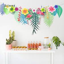 <b>3M Hawaiian</b> Tropical Leaves <b>Flamingo</b> Summer Party Decor ...