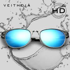 <b>Veithdia Unisex Retro Aluminum</b> Magnesium Sunglasses Polarized ...