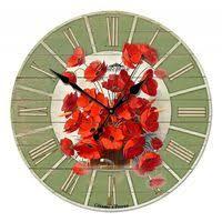 <b>Часы настенные</b> маки купить, сравнить цены в Кирове - BLIZKO