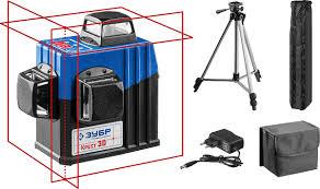 Нивелир лазерный линейный <b>Зубр Профессионал</b> Крест-3D-2 ...