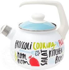 Купить <b>Чайник</b> Metrot Брокколи <b>эмалированный 2.5</b>л с доставкой ...