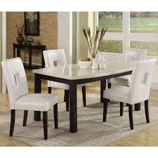 White Dining Room Chairs Black White Dining Set Design Stunning Designs Modern Dining Rooms