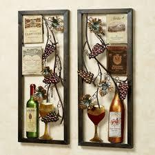 iron wall decor u love: decoration ideas wine bottle art vineyard kitchen wall decor