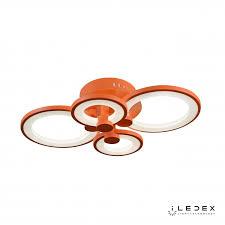 <b>Потолочная люстра iLedex</b> Ring A001/4 ORANGE / <b>iLedex</b>.RU