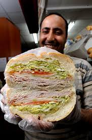 savings in ny daily news deli clerk abdo ali holds up a turkey sandwich at ishak deli and grocery located at 114 58 merrick blvd in queens the deli offers a 3 00 sandwich