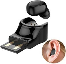 <b>Wireless Earbud</b> Bluetooth 4.1 Headset Invisible Earpiece with Mic ...