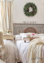 beautiful shabby chic style bedroom french country cottage christmas beautiful shabby chic style