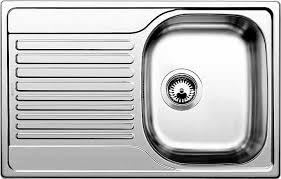 <b>Мойка кухонная Blanco Tipo</b> 45 S Compact сталь матовая купить в ...
