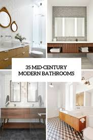 35 mid century modern bathrooms cover bathroom mid century