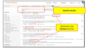 guide on the side how to search sciencedirect previous