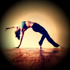 the world is my yoga mat saturday stretch salute session it can also be a little bit of a safety net too when you re working a bound or extended side plank and you feel like you re about to fall you just drop