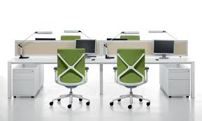 long office desk. professional desking systems white bench desk with thick square legs u0026 office screens long