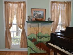 Decorating With Burlap Best Collections Of Burlap Curtain Panels All Can Download All