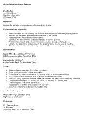 study abroad coordinator resume   sales   coordinator   lewesmrsample resume  front desk coordinator resume sle for