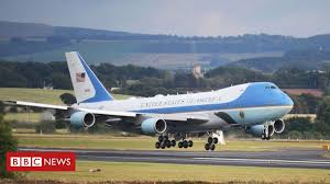 Trump unveils <b>new</b> Air Force One <b>design</b> plans - BBC News