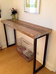 industrial mill reclaimed wood breakfast barconsole table for pool room breakfast bars furniture