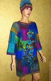 "Купить Платье -<b>джемпер</b> ""Саламандра <b>Гауди</b>"" - рисунок, Анна ..."