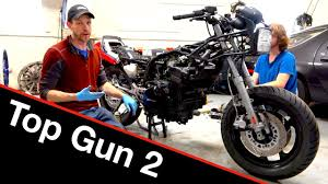 <b>Top Gun</b> Maverick | Kawasaki Ninja <b>motorcycle</b> build 2 - YouTube