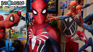 "<b>PS4</b> ""<b>Insomniac Spider-Man</b>"" REPLICA Suit Unboxing and Review ..."