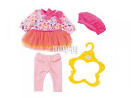 <b>Одежда</b> для куклы <b>Zapf Creation Baby</b> Born В погоне за модой 824 ...