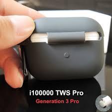 New i100000 <b>TWS Bluetooth</b> Earphones <b>Air3</b> pro Earbuds <b>Wireless</b> ...