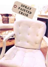 spray painted leather chair can you paint leather furniture