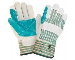 <b>Перчатки</b> спилковые <b>комбинированные</b> Докер