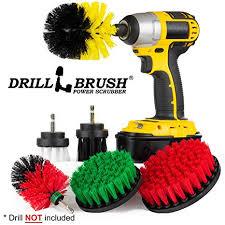 Drill <b>Brush</b> - <b>Cleaning</b> Supplies - <b>Kit</b> - Bathroom <b>Accessories</b>