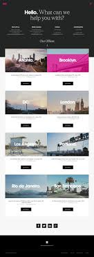 best images about website design inspiration i this site hierarchy organizes the information by creating repetition in like elements the design is inviting and the actions are clearly highlighted