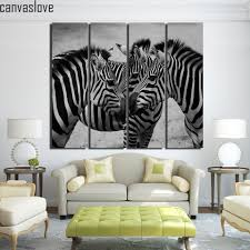Zebra Living Room Decor Compare Prices On Zebra Canvas Pictures Online Shopping Buy Low